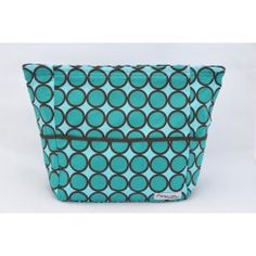 Pishposh Mommy Quick Zip Carryall Diaper Bag in Pacifica