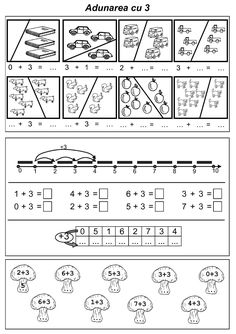 Editura DOR Preschool Worksheets, Preschool Activities, First Grade, Grade 1, Grade 2 English, Math Numbers, Homeschool Math, Printed Pages, Activity Sheets