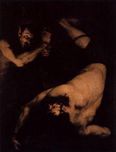 """Jusepe de Ribera, """"Lo Spagnoletto""""  Ixion, 1632"""