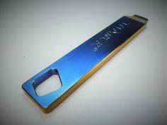 Edc Pry-Bar Titanium / Anodized por EdcApparatus en Etsy