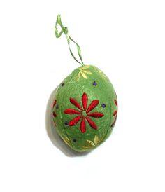 Felt Green Egg from Joanna Wood Shop | www.joannawood.co.uk #easteregg #easter #decoration