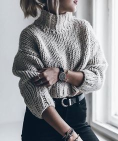 jollenchristina:  Sweater weather.