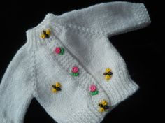 The Busy Little Bees Handknit Sweater for American by Jusadreamin, $15.00