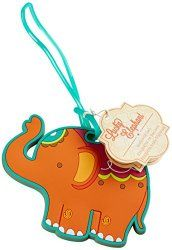 """Kateaspen Kate Aspen """"lucky Elephant"""" Luggage Tag for sale online Bobble Art, Cute Luggage Tags, Classy Baby Shower, Kate Aspen, Luggage Backpack, Toddler Backpack, Thing 1, Baby Store, Arts And Crafts Supplies"""