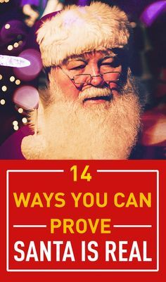 Keeping the magic of Christmas going for kids as they grow up is never easy. Thankfully there are some very easy and fun things you can do to keep the magic of Santa alive for another year. These are 14 ways to prove Santa is real.