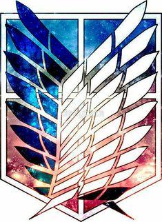scout legion Attack on Titan galaxy shingeki no kyojin anime by dezytata - картинки аниме Anime Plus, 5 Anime, Anime Kawaii, Anime Love, Anime Art, Awesome Anime, Levi X Eren, Levi Ackerman, Armin