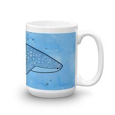 Whale Shark Art Mug