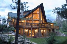 Log Cabin by Golden Eagle Log Homes