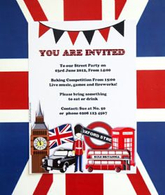 UK, British and London Inspired Party Ideas & Recipes