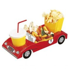 Sports Car Party Food Trays