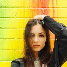 Victoria Justice, ... ... ... ... ... ... ...          148k likes ... 7h ... ... ... ...  @victoriajustice ... ... ... ... ... ... Found the most amazing painted building in Santa Monica. #ShamelessSelfie #TheseColorsThough