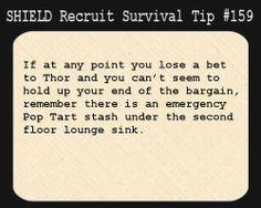 SHIELD Recruit Tip #159