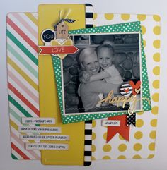 Scrapbook layout using Felicity Jane's Charlotte product line | by Catherine Bolinder | Love it!