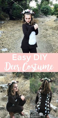 Easy DIY Deer Costum