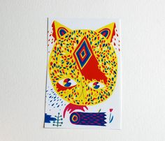 Leaping Cat sticker by ginettepomette on Etsy, $2.00