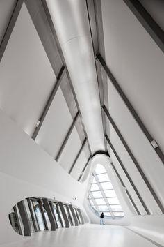 Zaragoza Bridge Pavilion by Zaha Hadid  #architecture
