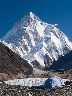 baConcordia3K21AAA | a lone tent with a splendid view of K2,… | Flickr