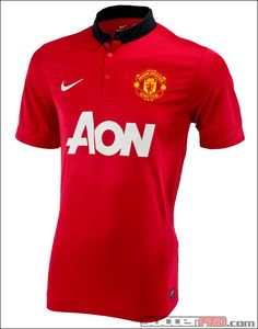 Nike Manchester United Home Jersey 2013-2014...$80.99