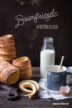 Chimney Cake / Kurtoskalacs Recipe