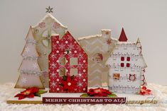 CT1117 Christmas Village