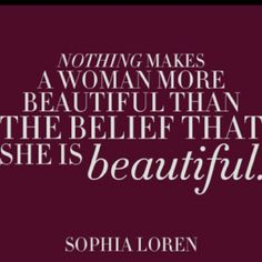 Sophia Loren, trying to remember this, but at times it is hard...