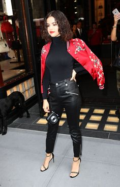 Selena Gomez at Special Meet & Greet at the Coach House in New York 09/13/2017. Celebrity Fashion and Style | Street Style | Street Fashion