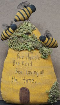 Bee the best you can bee.    (Love Maryjo)