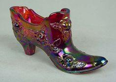 ✿.¸¸.ღღ ღ¸¸.✿.`❤✿.¸¸.ღ .¸¸.✿`❤✿.¸¸.ღ¸¸.✿.  Fenton Glass Shoe  ✿.¸¸.ღღ ღ¸¸.✿.`❤✿.¸¸.ღ .¸¸.✿`❤✿.¸¸.ღ¸¸.✿.