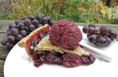 Canadian Classic Concord Grape Pie is made with luscious in-season British Columbia Concord grapes and worth every minute to prepare this harvest pie recipe