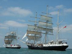 Jachty żaglowe #yachts - http://www.WaterActiv.pl