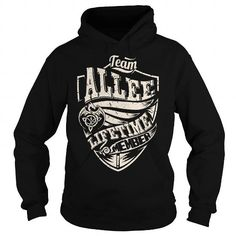 I Love Team ALLEE Lifetime Member (Dragon) - Last Name, Surname T-Shirt Shirts & Tees