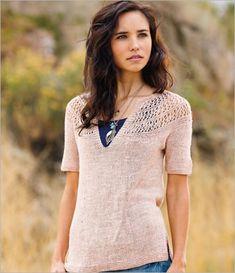 Spring knitting patterns from Knitscene