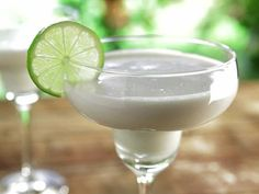 Coconut Margarita | http://www.foodnetwork.com/recipes/bobby-flay/coconut-margarita-recipe.html