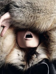 Coco Rocha | Alan Gelati  #photography | via tumblr How i feel right about now!!!!!
