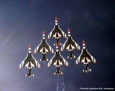 F-4 Thunderbirds-Love going to Nellis for the air shows!