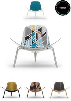 Hans J.Wegner Shell Chair,