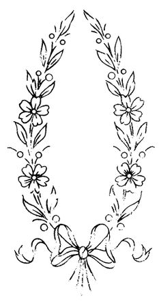 Embroidery Pattern from  W 733 or Serial nº 2022 b | by mmaammbr via Flickr. jwt