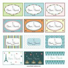 Les Bons Points de Thalie et Orphee Cycle 3, Teaching French, Le Point, Free Printables, Back To School, Encouragement, Bullet Journal, Positivity, Math