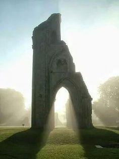 Glastonbury England, resting place of King Arthur