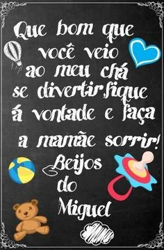 Agradecimento Chá de Bebê Quadro Chalkboard Our Baby, Baby Boy, Diy And Crafts, Crafts For Kids, Lucca, Alice, Baby Shower, Lettering, Chai