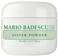Mario Badescu Silver Powder is perfect for quickly drawing out those pesky blackheads. Just dampen a cotton ball, dip it into the container, and apply for 10 minutes. Rise with toner!  *Tip: also consider following up this treatment with pore strips for even better results*