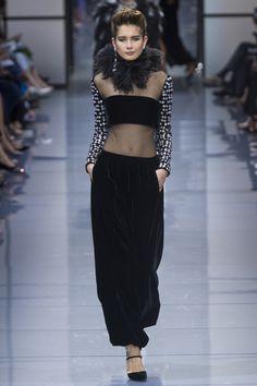 Armani Privé Fall 2016 Couture Fashion Show