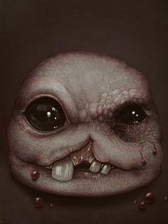 """crabinhisass: """"Monstro Painting The Binding of Isaac Rebirth Medium: Acrylic """""""