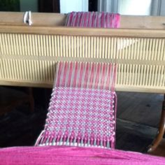 Houndstooth on a rigid heddle loom