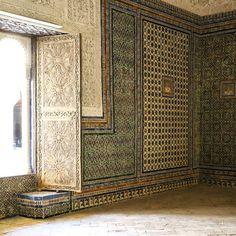 Floor to ceiling tile! Casa de Pilatos, Seville Spain.