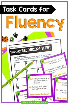 Reading fluency activities are meant to be fun! Students can use these task cards to practice expressive reading to match how the character is feeling. They will have so much fun practicing reading with expression that they won't realize they're improving their reading comprehension at the same time! The corresponding printable snowman emotions charts can be used as an anchor chart during small groups and writers workshop. #thereadingroundup #fluency #taskcards #winteractivitiesforkids Third Grade Reading, Student Reading, Guided Reading, Teaching Reading, Second Grade, Reading Fluency Activities, Reading Resources, Reading Comprehension, Emotion Words