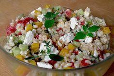Ebly - Salat, ein sehr schönes Rezept aus der Kategorie Party. Bewertungen: 37. Durchschnitt: Ø 4,3.