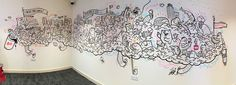 Dunkin' Donuts Store Mural on Behance