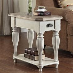Have to have it. Riverside Coventry Two Tone Chair Side Table - $375.75 @hayneedle