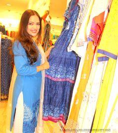 Biba SS17 Indigo Collection http://www.rakhshanda-chamberofbeauty.com/2017/05/biba-ss17-indigo-collection.html  #Indianwear #Summeroutfit